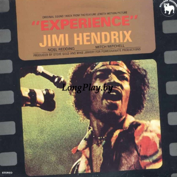 "Jimi Hendrix  - Original Sound Track From The Feature Length Motion Picture ""Experience"""