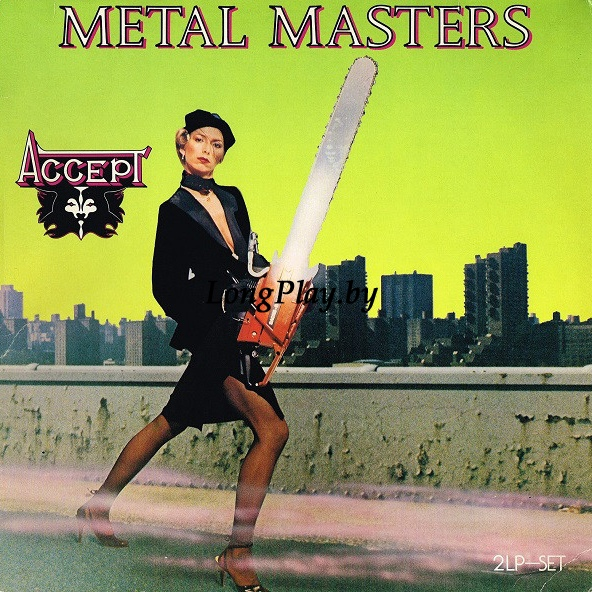 Accept ‎ - Metal Masters