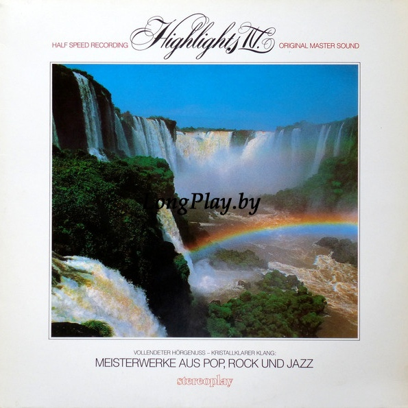 Various  - Highlights IV, Meisterwerke Aus Pop,Rock Und Jazz