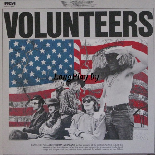 Jefferson Airplane ‎ - Volunteers