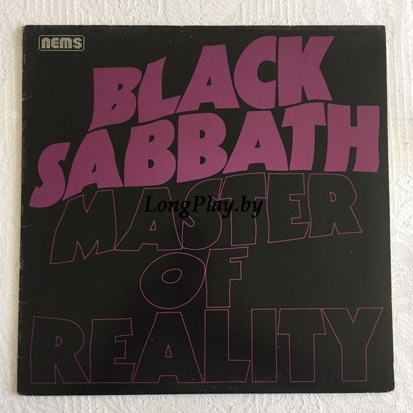 Black Sabbath ‎ - Master Of Reality