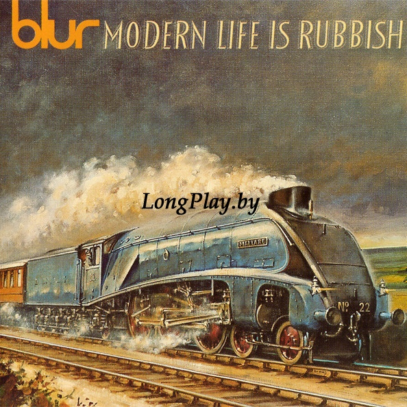 Blur ‎ - Modern Life Is Rubbish