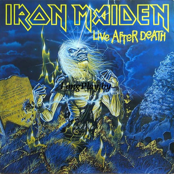 Iron Maiden ‎ - Live After Death